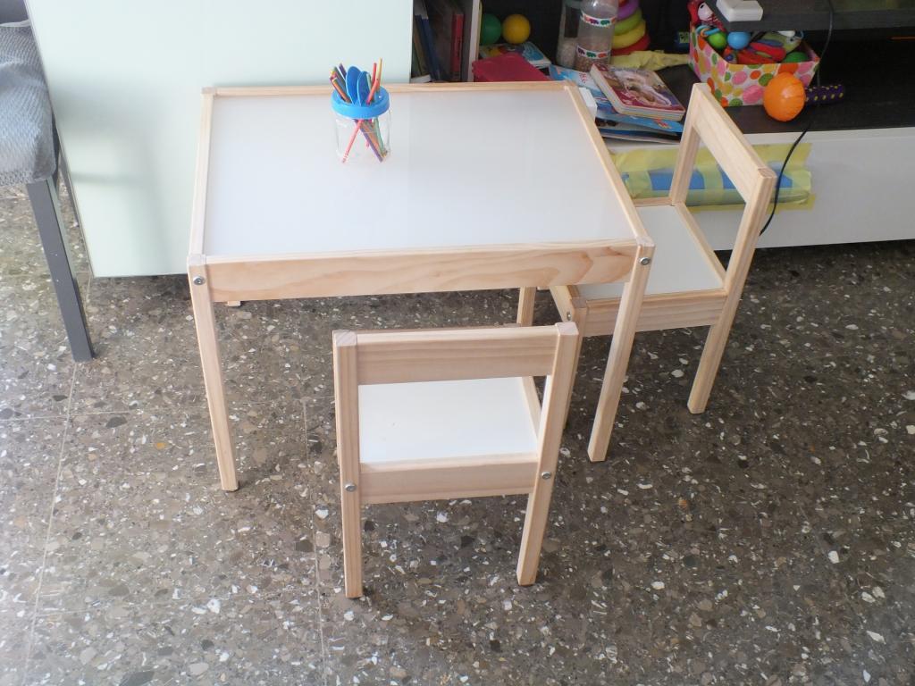 Tutorial de la mesa de luz diy lightbox tutorial happy mama - Mesas de ikea para ninos ...