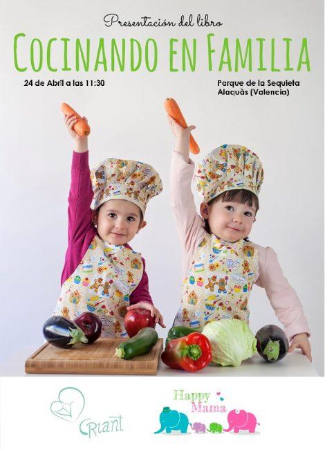 Presentación Cocinando en familia día 24 Abril