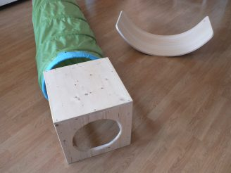 Espacio de libre movimiento para el bebé