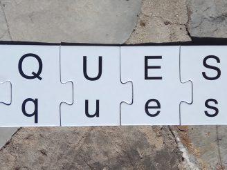 Puzzle para formar palabras