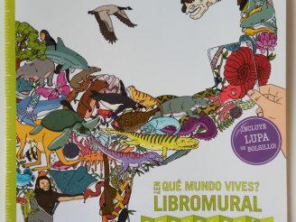 ¿En qué libro vives? Libromural cronología de la naturaleza