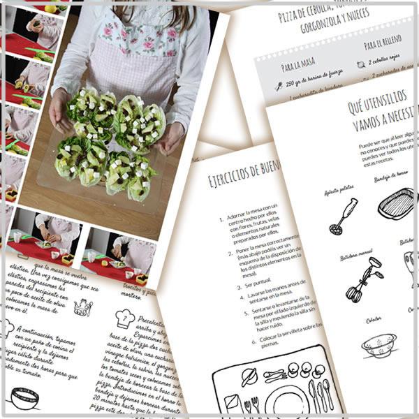 Libro de cocina preview
