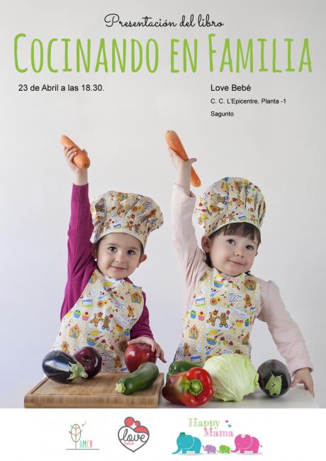 Presentación Cocinando en familia día 23 Abril