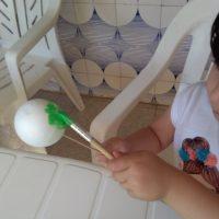 Pintando las esferas