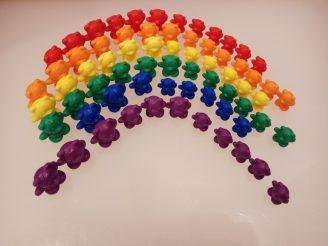 Matemáticas para niños pequeños. Conteo, series, ordenación, colores, números, conjuntos